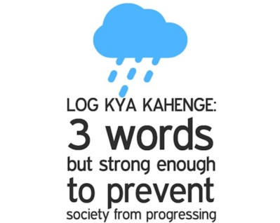 Image result for log kya kahenge meme